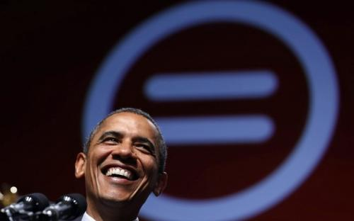U.S. President Barack Obama smiles at the 2012 National Urban League Conference at the Ernst N. Morial Convention Center in New Orleans July 25, 2012.
